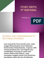 Study Kritis Biofarma