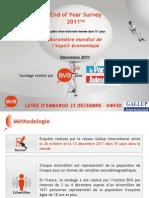 Enquête 2011 BVA-Gallup International pour le Parisien » et « Aujourd'hui en France »