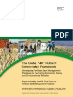The Global 4R Nutrient Stewardship Framework