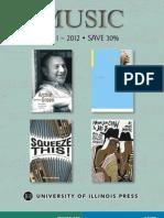 Music brochure 2011-2012