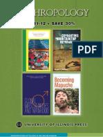 University of Illinois Press Anthropology Catalog Fall 2011