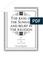 "The Basis of The Sunnah And Belief in The Religion by -""ar-Raziyaan"" - Imams Abu Haatim ar-Razi and Abu Zur'ah ra-Razi"