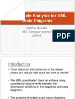 Super State Analysis for UML State Diagrams
