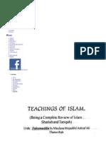 Taleemuddin-TeachingsOfIslam-MaulanaMujaddidAshrafAliTha