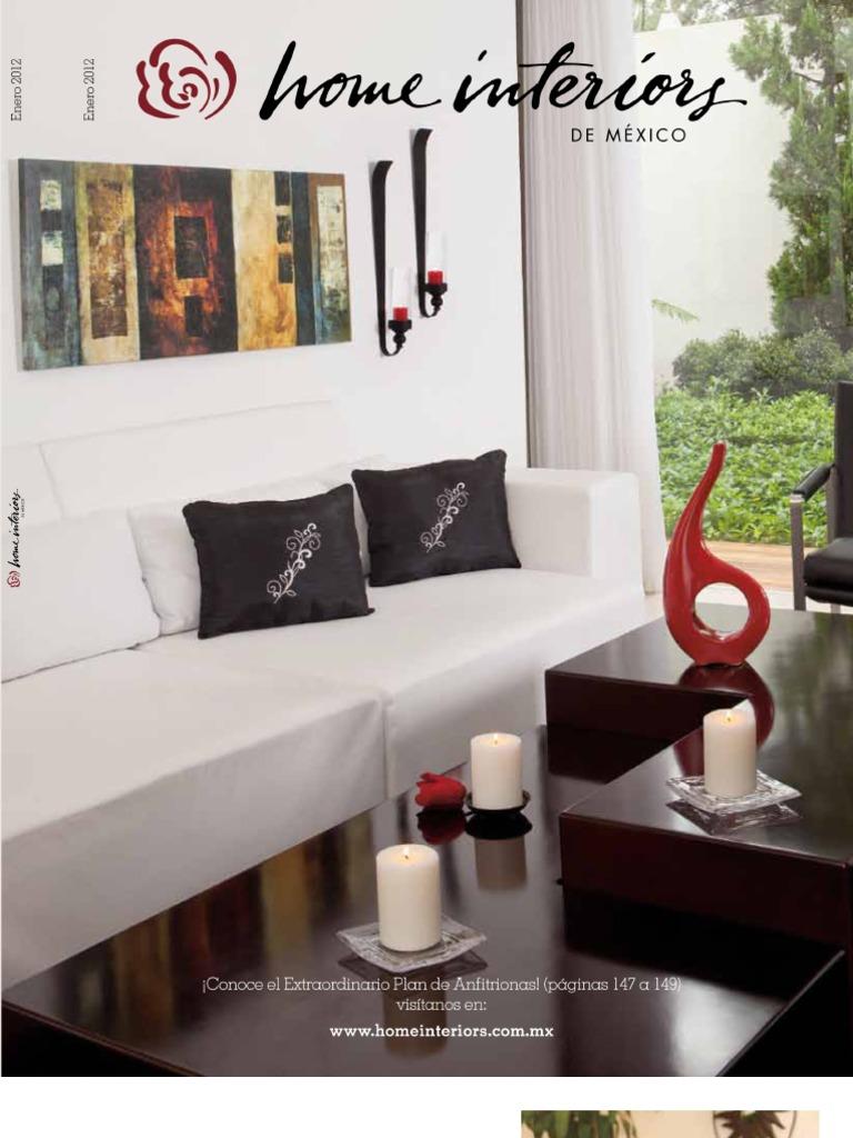 Home Interiors De México Catálogo De Presentación Enero 2012