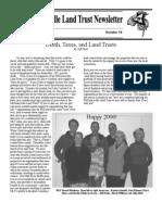 Winter 2005 McKinleyville Land Trust Newsletter