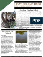 Winter 2009 McKinleyville Land Trust Newsletter