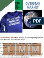 Overseas Marketeing,Grp 2