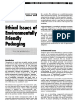 Ethical Issues of Environmentally Friendly Packaging