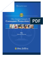 2011 Consumer Protection Annual Report