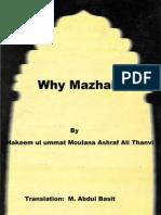 Essence of Taqleed/Madhab  by Moulana Ashraf Ali Thanvi (ra)