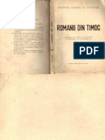 Romanii Din Timoc II