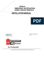 Gamewell Gfps9 Manual
