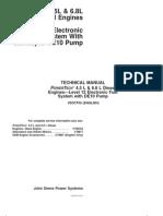 PowerTech 4.5L &6.8L Diesel Engines - Level 12 Electronic Fuel System-Stanadyne DE10 Pump-CTM331