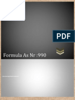 Formula as Nr 990