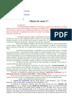 Editura Cuget Romanesc - Oferta de carte-nr 17 din anul 2011
