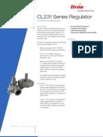CL231 Gas Regulator