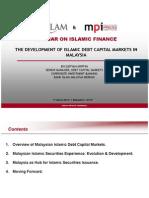 The Development of Islamic Debt Capital Markets in Malaysia