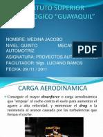 Aerodinamica y agarre
