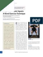 Suspended Chain Squats a Novel Exercise Technique.9