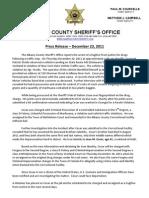 Fugitive - Drug Arrest 12-23-2011