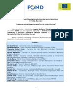 Raport Seminarul National Educatia Globalapentru Dezvoltare