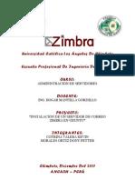 Manual Instalacion Zimbra