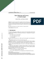 Andreas Blass and Saharon Shelah- Basic Subgroups and Freeness, a Counterexample