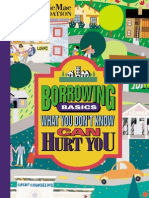 Borrowing Basics - What You Don't Know Can Hurt You - R2O