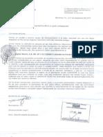 Acuse de Recibo Cadivi