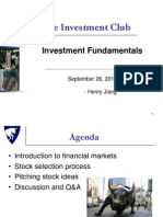Fundamental Analysis Seminar
