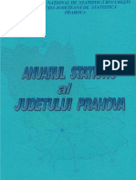 Anuarul Statistic Al Judetului Prahova 2009