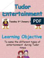 Tudor - Lesson 1 Entertainment