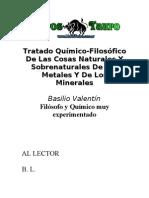Tratado Quimico Basilio Valentin
