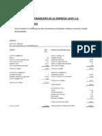 ANÁLISIS FINANCIERO DE LA EMPRESA LAIVE S