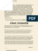 """Everything About """"Cloud Computing. (A beginners Guide)"""