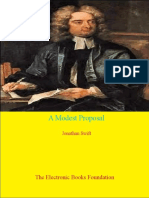 A Modest Proposal by Jonathan Swift Optimized 2 Page Version
