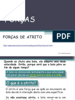 FORÇA DE ATRITO