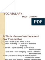 Vocabulary l6