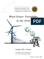Wind Power Variability Thesis