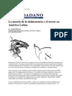 La mezcla de la delincuencia y el terror en América Latina