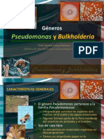 3 Pseudomona y 4 Burkholderia
