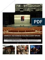 AMERICAN JAZZ MUSEUM FACILITIES AND EVENT SPACES