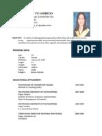 Resume Florefe