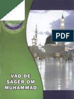 VAD  DE  SÄGER OM  MUHAMMAD Svenska