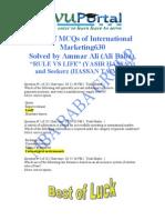 Mkt630 Mega File Solved Online Quiz