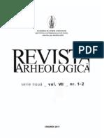Revista Arheologica Vol. VII, Nr. 1-2