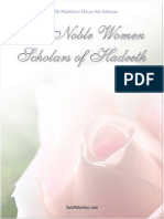 The Noble Women Scholars of Hadeeth by Shaikh Mashhoor Hasan Aal Salman