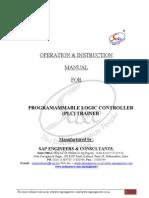 Manual_PLC Trainer