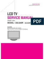 Lg - Lcd - Mod 22lg30r-Ta_chasis Lp81k